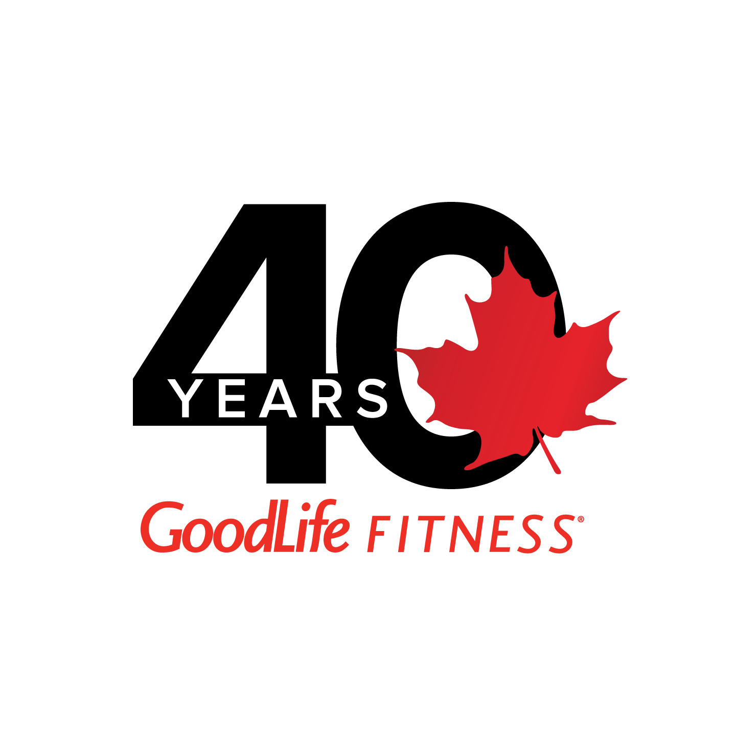 GoodLife 40th Anniversary logo